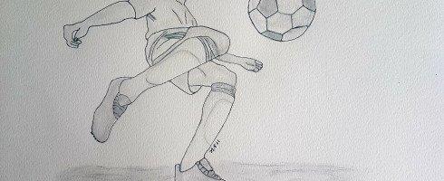 1er de ma série dessins football