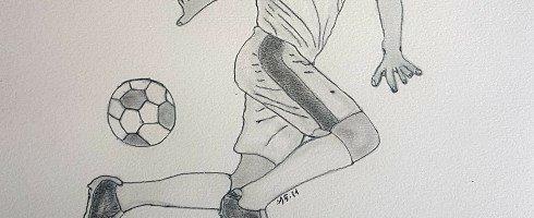 2eme de ma série de dessins thème football